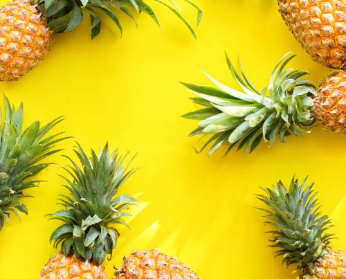 Früchtchen des Monats: die Ananas