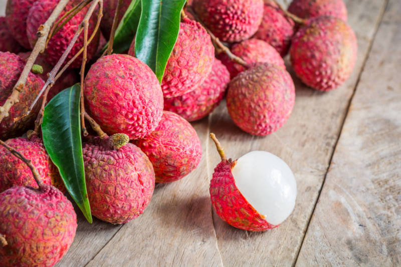 Product of the month: the litchi