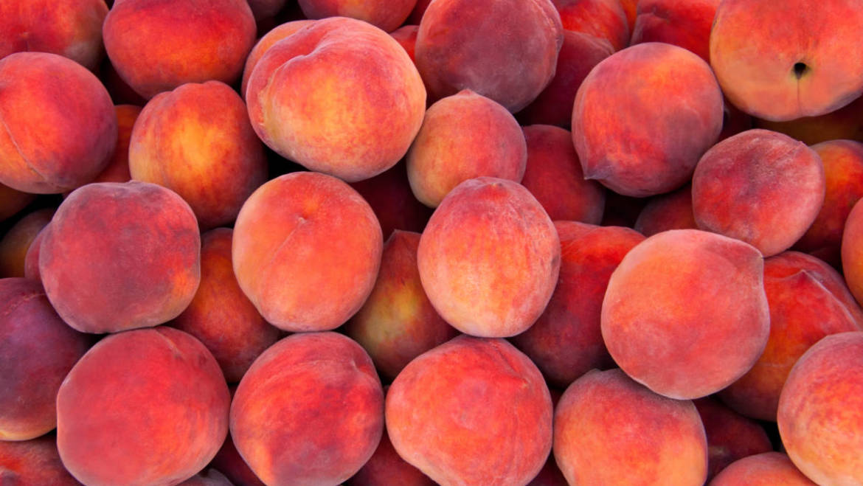 Produkt des Monats: der Pfirsich