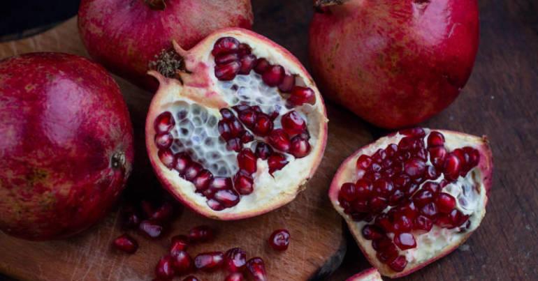 Produkt des Monats: der Granatapfel
